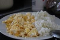arroz com ovo Rapariga moderna - Joana banana blog