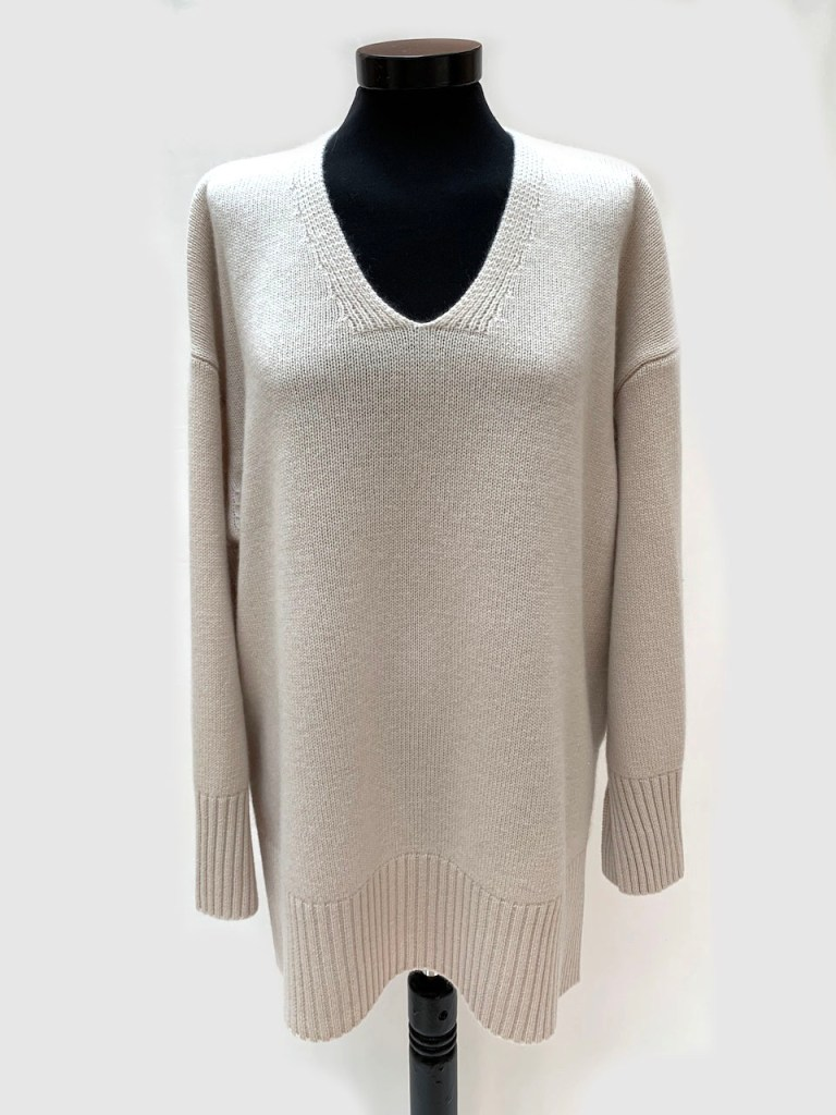 ALLUDE | Pullover aus Wolle-Cashmere