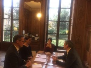 Réunion avec les conseillers culture du Premier Ministre
