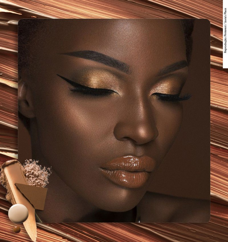 how to choose the right hightlighter for dark skin