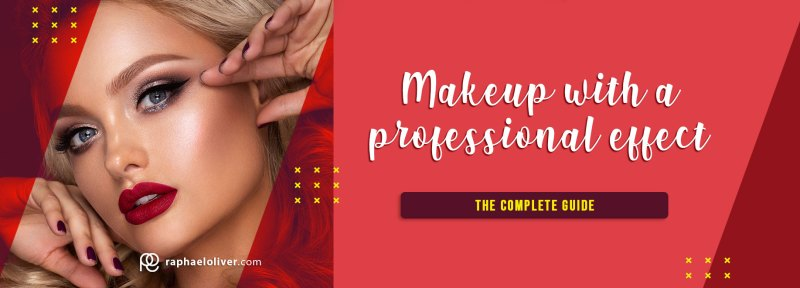 How to do a makeup with a professional effect