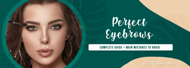 How to create perfect eyebrows with makeup | Raphael Oliver