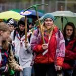 Anreise zum Bezirks Pfingstlager Kandersteg der Pfadi Berner Oberland