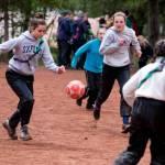 Fussballspiel im Bez-Pfila Kandersteg
