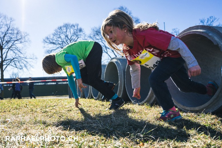 Kinderlauf vom Survivalrun 2017 in Thun