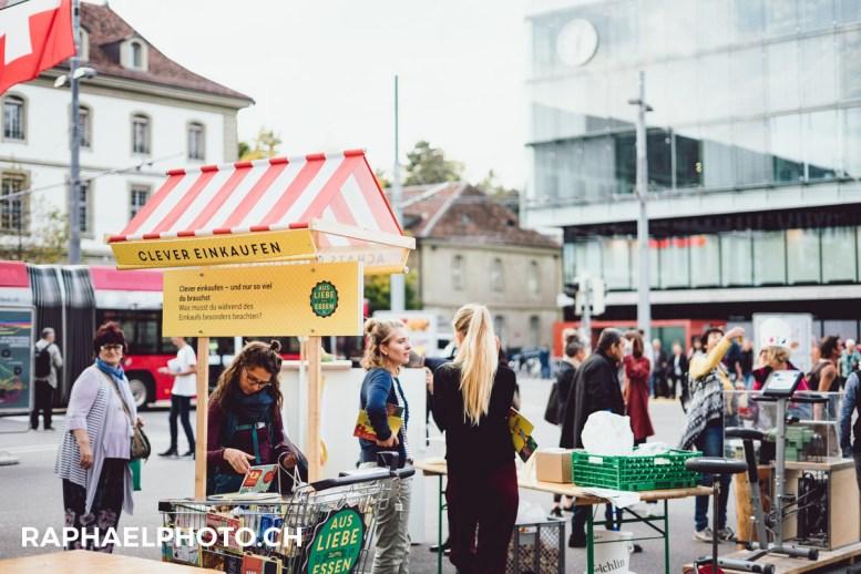 Foodsave Bankett Bahnhof Bern 2017-2