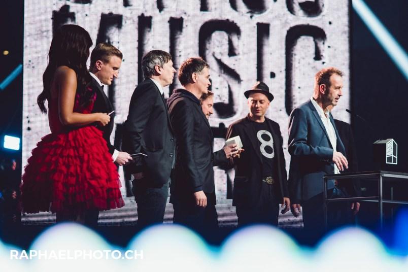 Übergabe Swiss Music Award Züri West