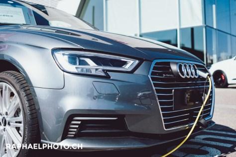 Audi A3 e-tron beim Audi Center Amag Bern