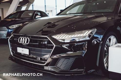 Audi A7 - Laser-Punktscheinwerfer