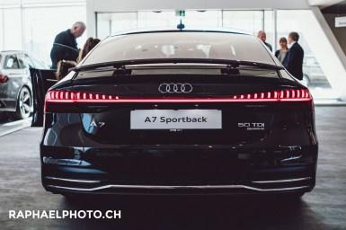 Rückseite Hinterseite Audi A7 2018 Bern Wankdorf Amag