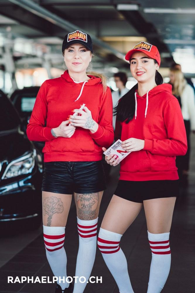 Promogirls Mercedes Benz Wankdorf