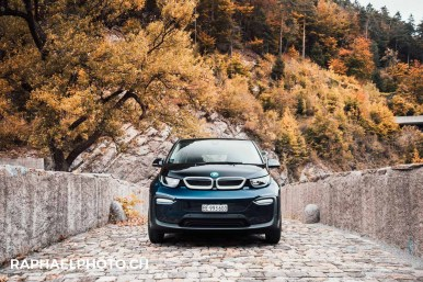 BMW i3 in Wimmis