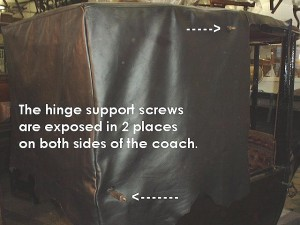 Hinge support holes