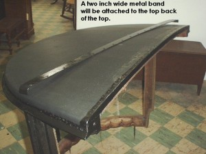 Metal Band Attached to top