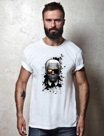 Tee shirt Karl Lagerfeld, Tee Shirt Karl Lagerfeld Choupette, T-shirt Raphael Setiano, T-shirt créateur