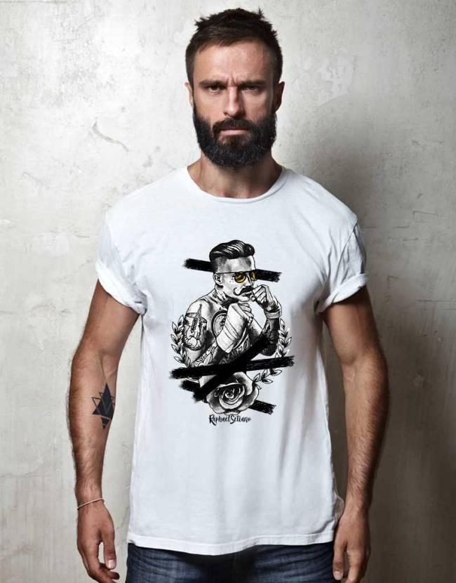 Tee Shirt Hipster Fashion, T-Shirt Stylé Homme, Tee Shirt Tendance Homme.