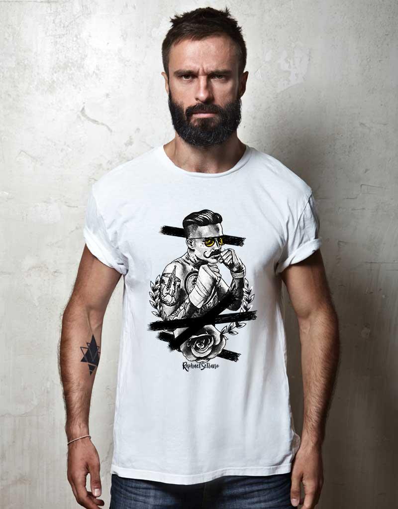 41fc0396edb4c Tee Shirt Hipster Fashion, T-Shirt Stylé Homme, Tee Shirt Tendance Homme.