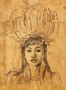 Native girl unfinished