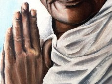 Gandhi Close Up 2