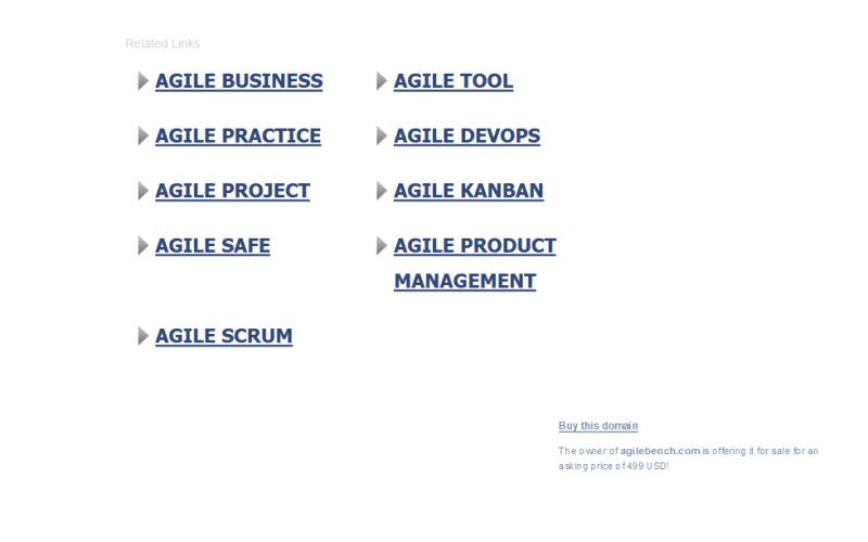 Agile Bench API