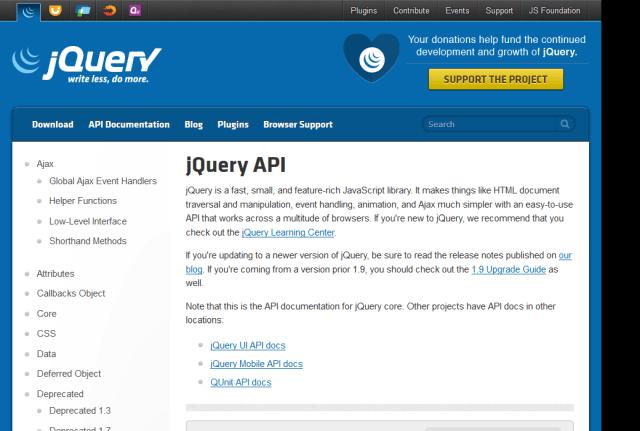 Jquery API