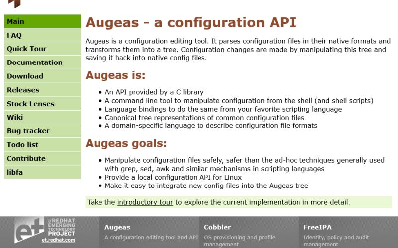 Augeas API