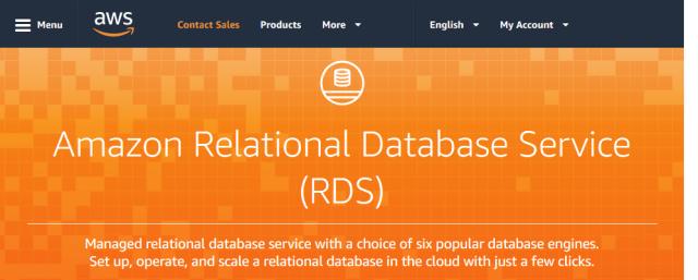 Amazon Rds Relational Database Service API
