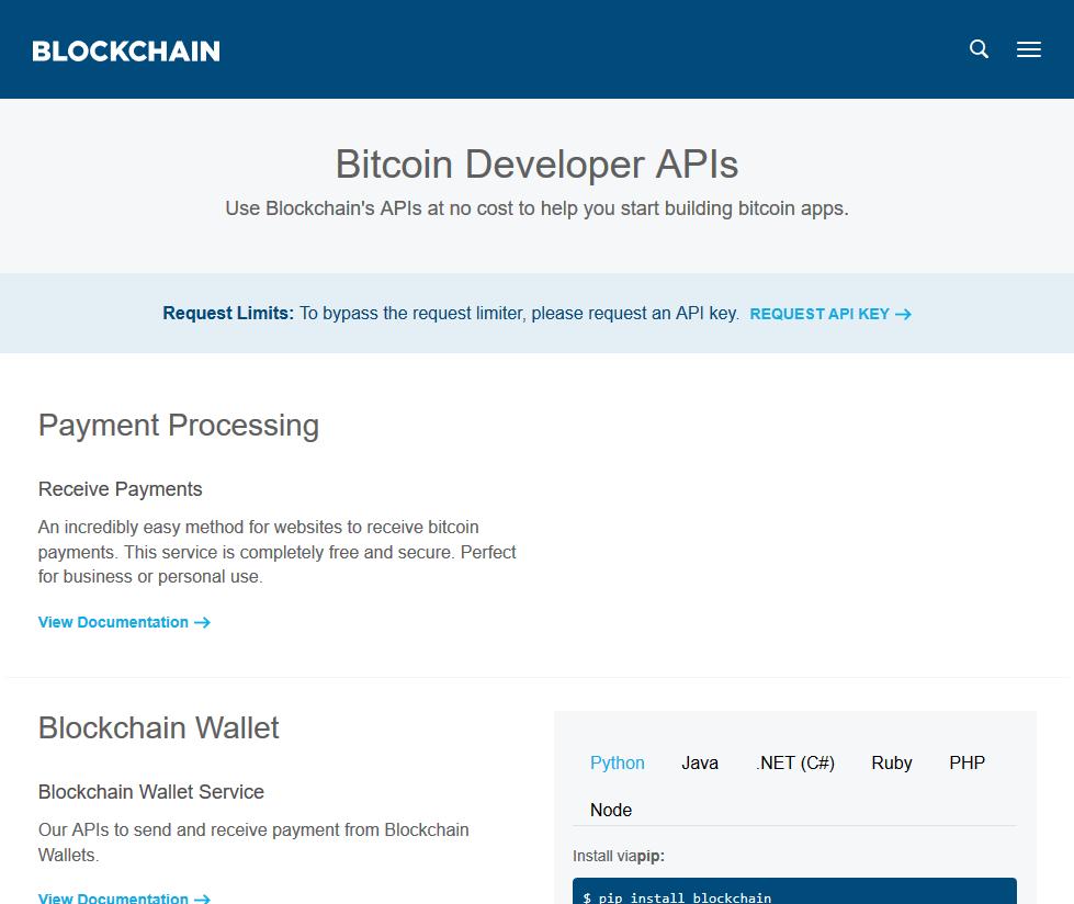 bitcoin info api