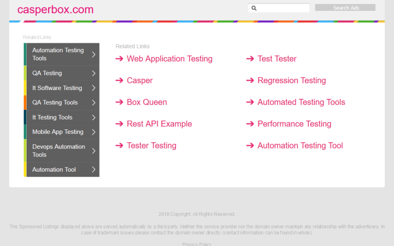 CasperBox API