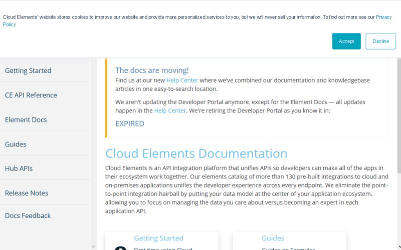 Cloud Elements Platform API