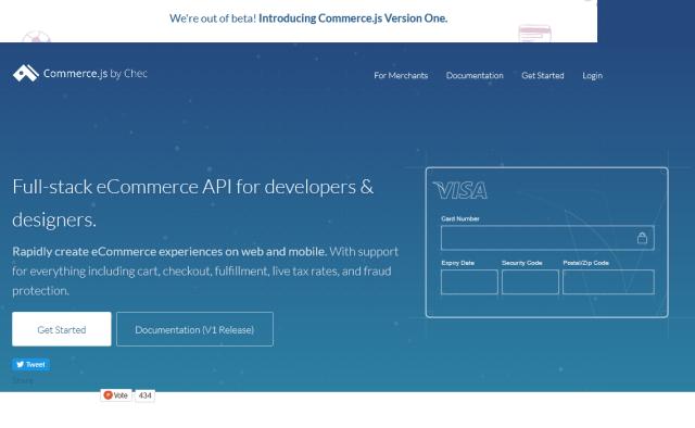 Commercejs API