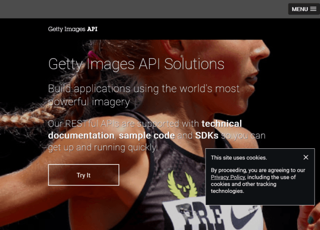 Getty Images API