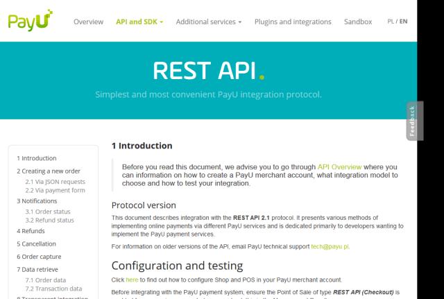 Pay U API
