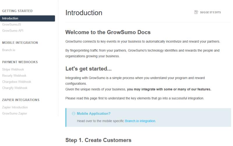 GrowSumo API