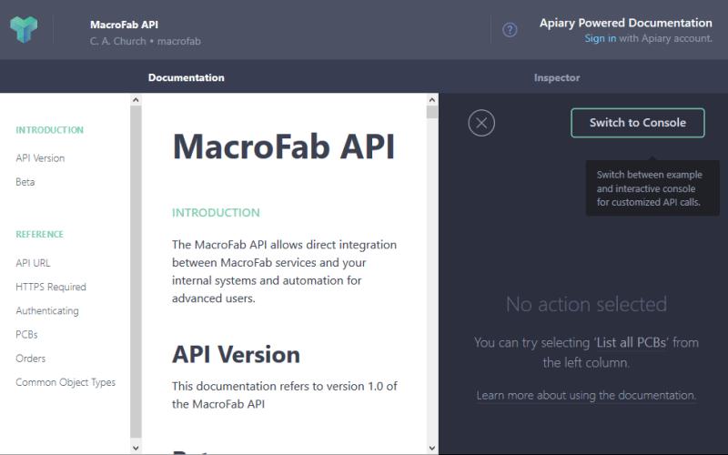 MacroFab API