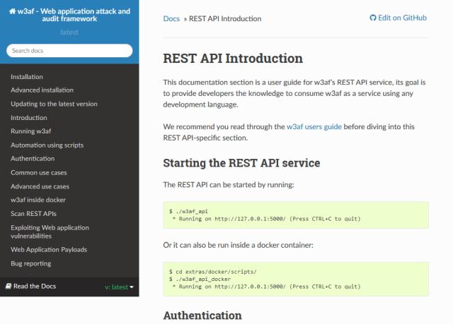 W3Af API