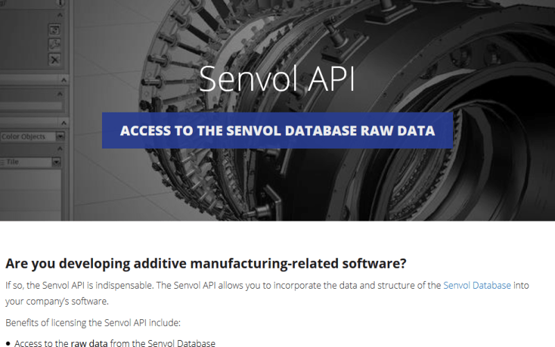 Senvol Database API