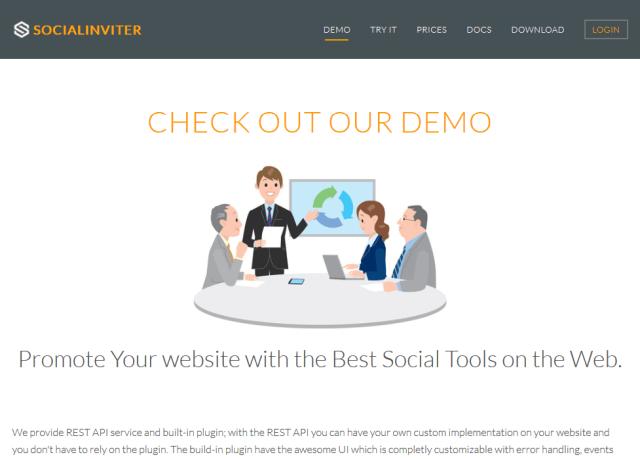 Socialinviter Social Connect API