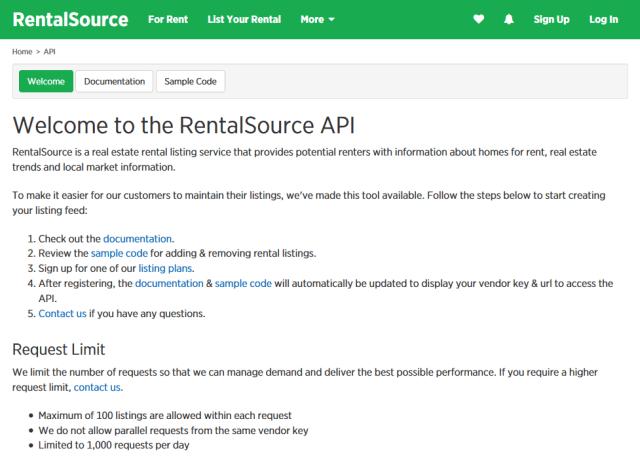 Rentalsource API