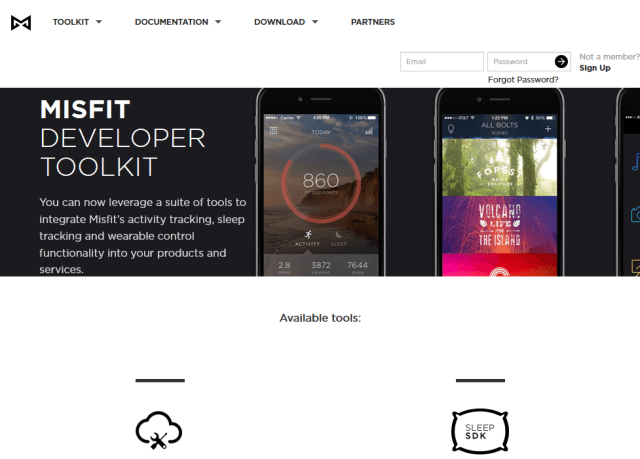Misfit API