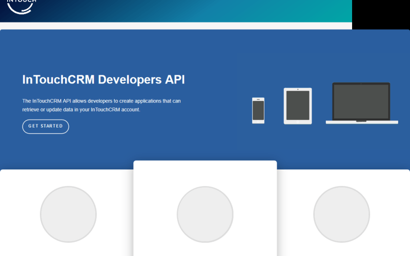 InTouch CRM API