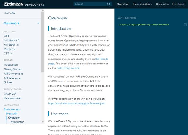 Optimizely Event API