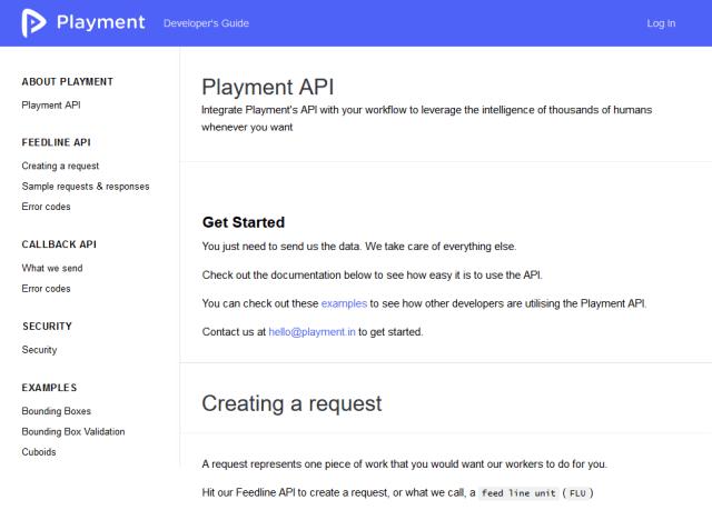Playment API
