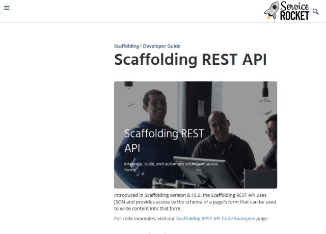 Service Rocket Scaffolding API