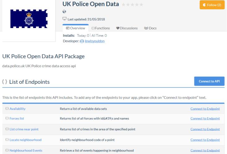UK Police API