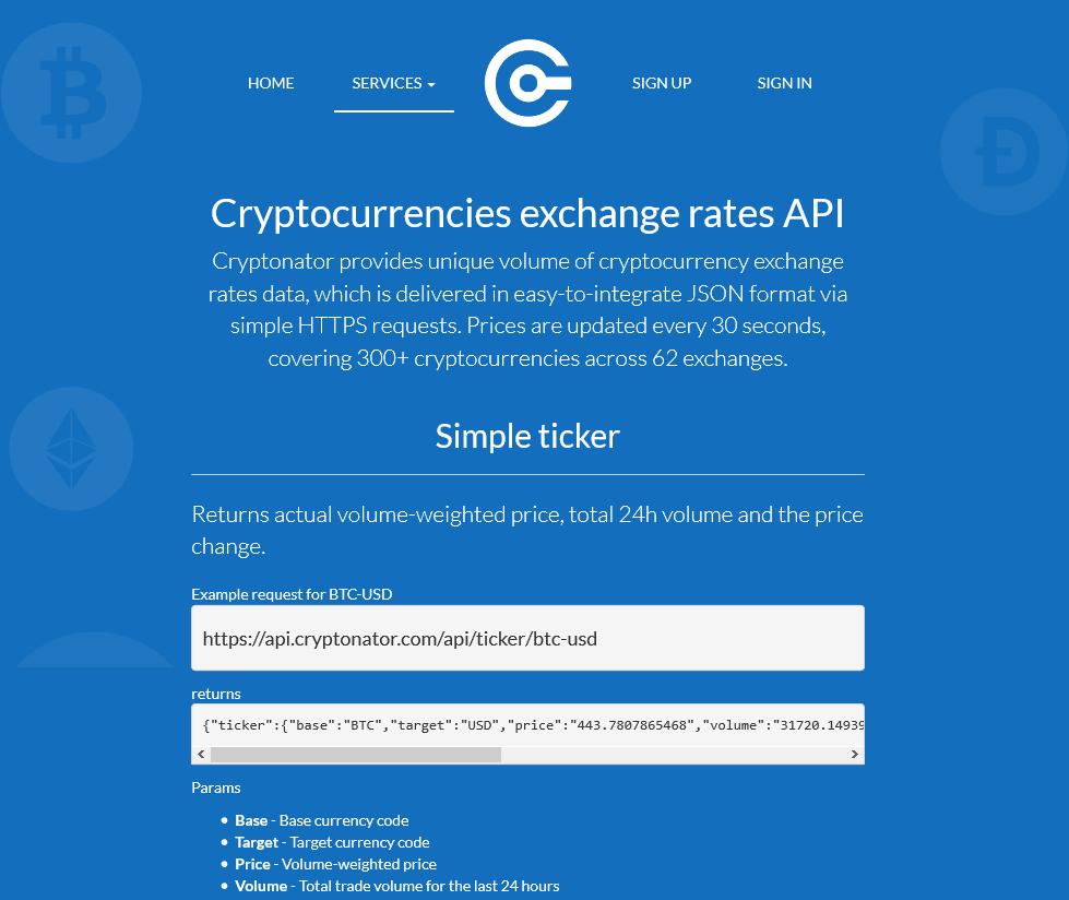 bitcoin usd price api