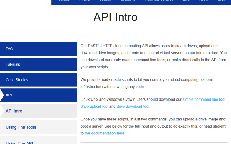 ElasticHosts Cloud Computing API