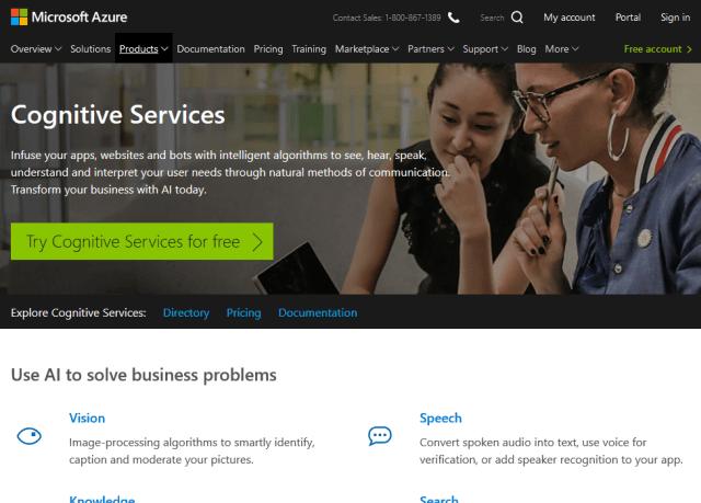Microsoft Cognitive Services Academic Knowledge API