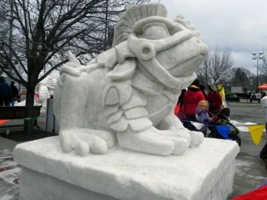 Snow Sculpture 1a