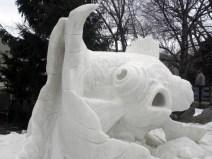Snow Sculpture 8c